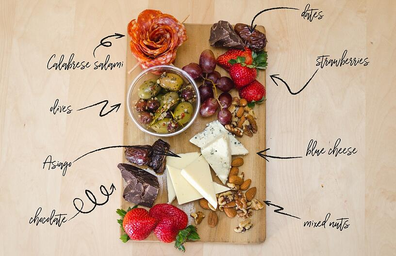 HOW TO MAKE AN ANTIPASTO BOARD