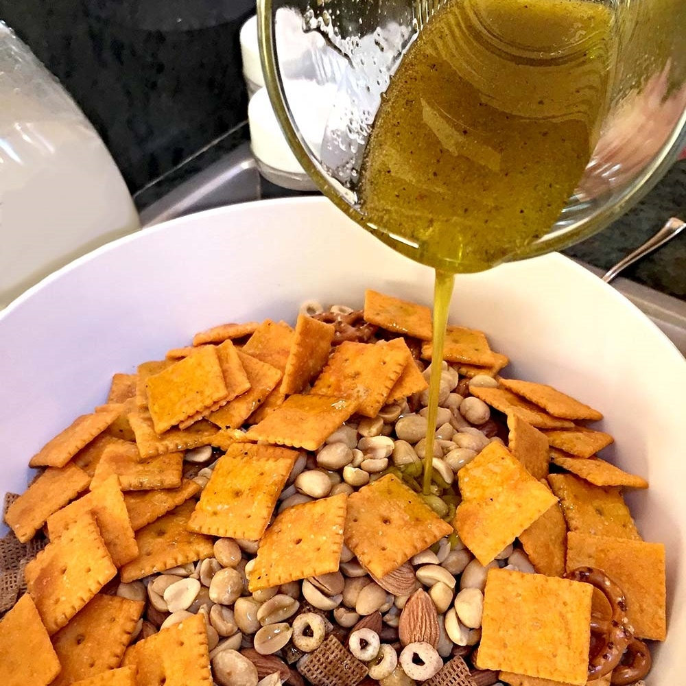 OLIVE OIL CHEX MIX