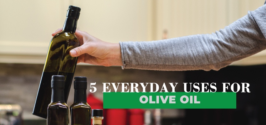 5 Everyday Uses For Olive Oil