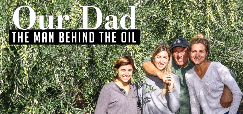 Our dad: the man behind the oil