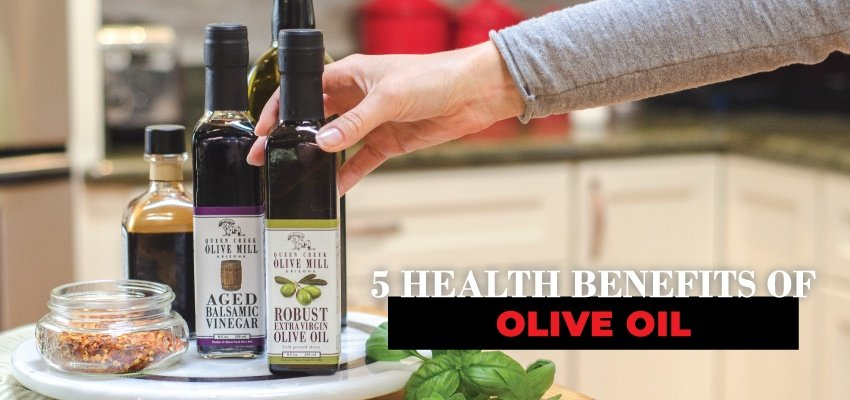 5 health benefits of olive oil