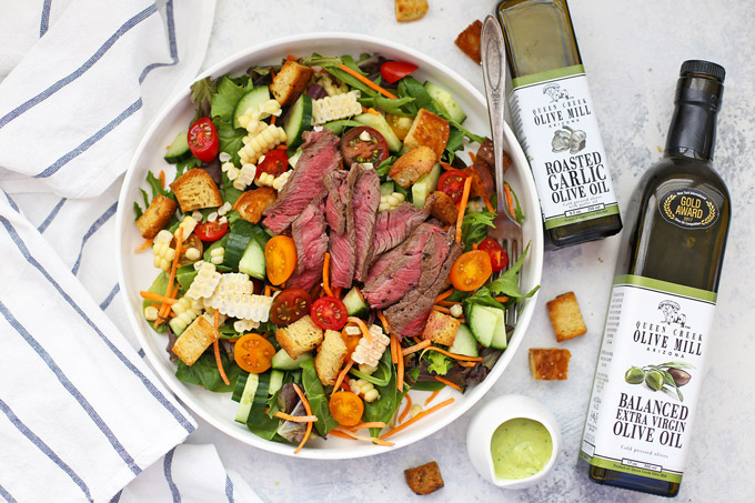5 HEARTY SALADS FROM ONE LOVELY LIFE