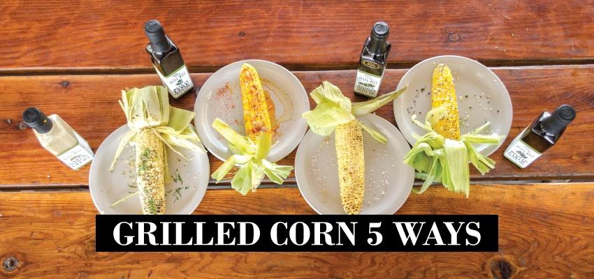 Grilled Corn 5 Ways