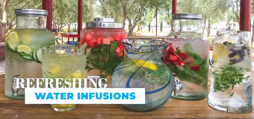 Refreshing Water Infusions